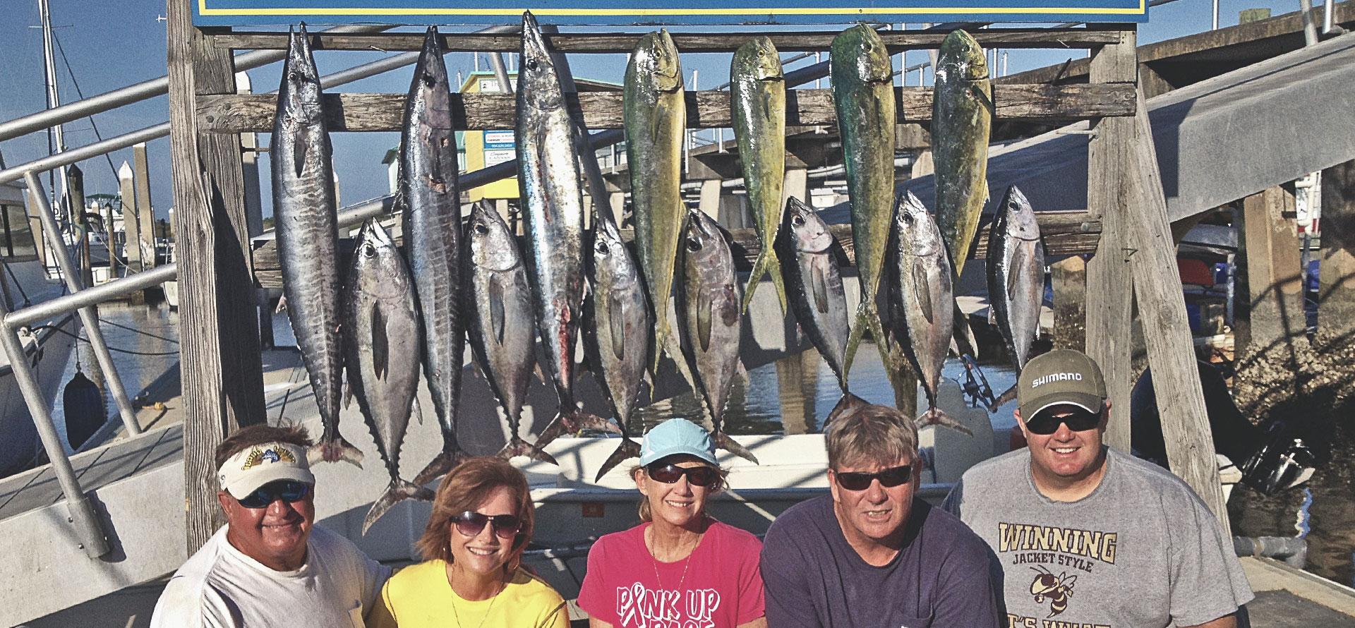J hook luxury fishing chartersst augustine offshore for St augustine fishing charter